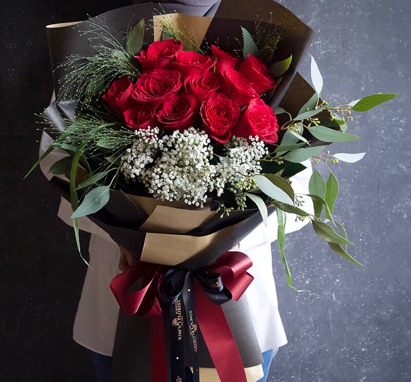 Online Florist Hand Bouquet Flower Delivery Johor Bahru